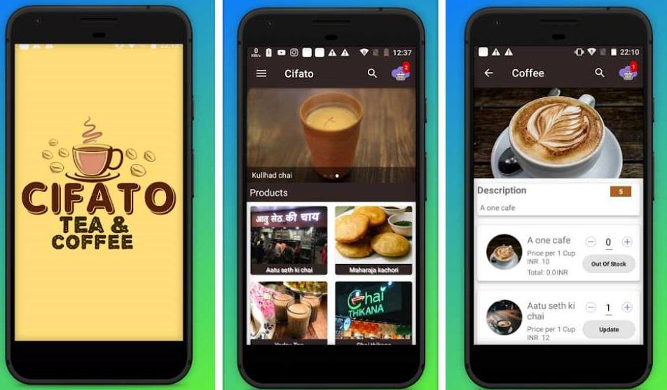 online food ordering app development